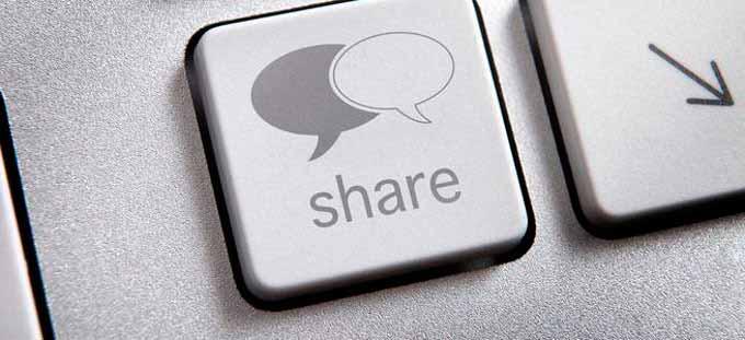 Botón para compartir contenidos web Alt Solutions