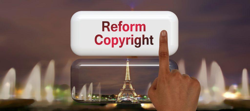 Reforma copyraight Parlamento Europeo