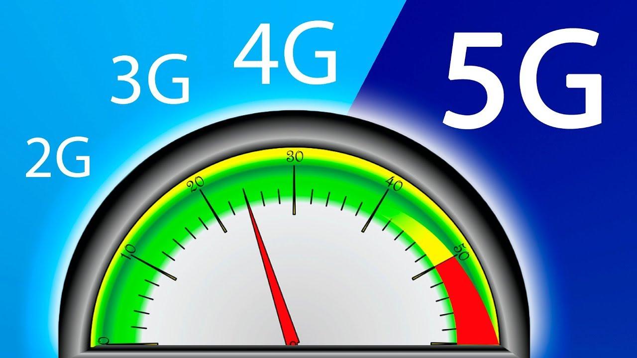 Tecnología 5G en la red