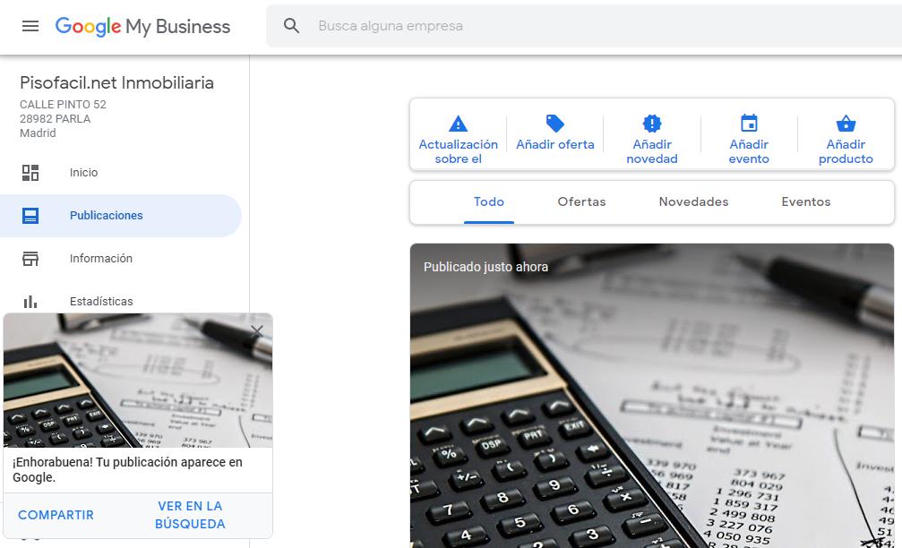 Publicaciones en Google My Business - Alt Solutions Blog